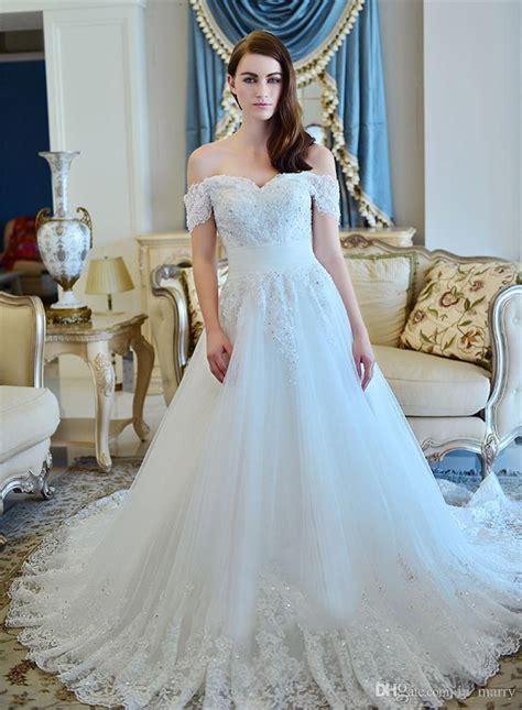 Latest Off The Shoulder Wedding Dresses 2017