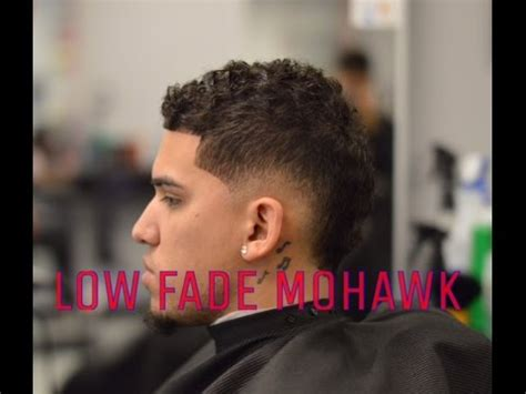 fade mohawk burst fade special client youtube
