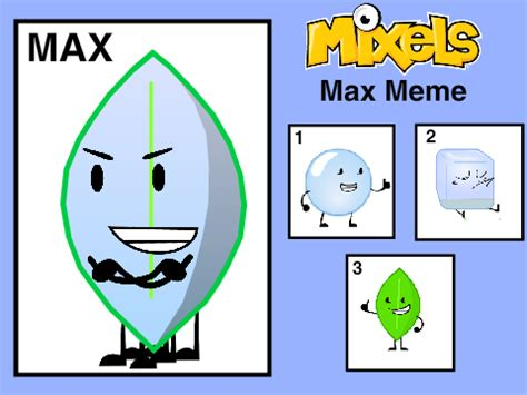 Max Meme - mixels max meme remix remix on scratch