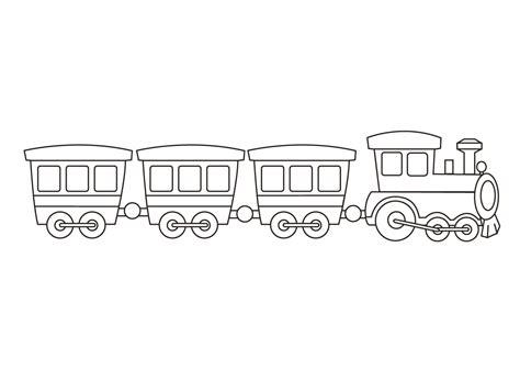 Kleurplaat Trein Met Wagonnetjes by Kleurplaat Trein De Leukste Treinen Kleurplaten Voor