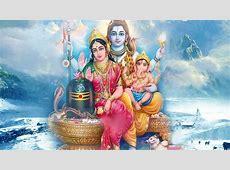 Lord Shiva Parvati and Ganesha HD wallpapers New hd