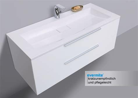 waschtisch mit unterschrank und spiegelschrank badm 246 bel set cubo grifflos 120 cm waschtisch mit