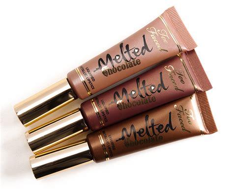 Sneak Peek Too Faced Melted Chocolate Lipsticks Photos