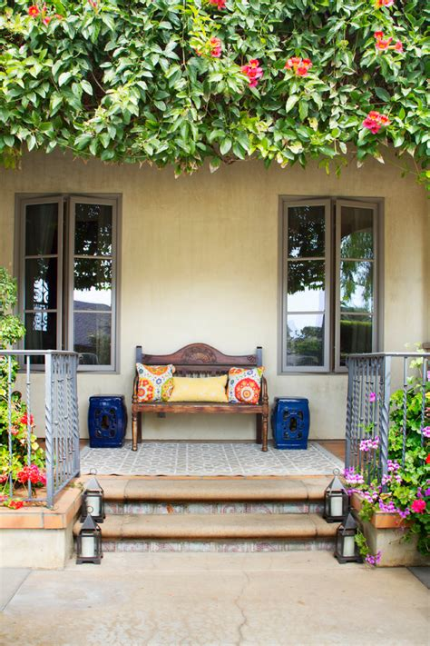 beautiful mediterranean porch designs   drag