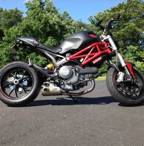 best exhaust for ducati 796 ducati 2012 black 796 custom racing box exhaust by