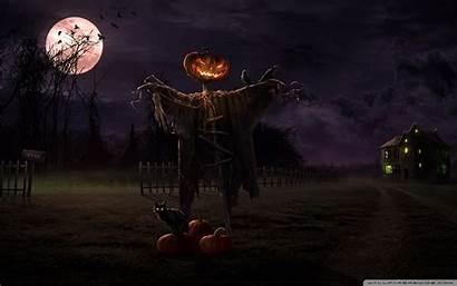 Spooky Path Desktop Wide