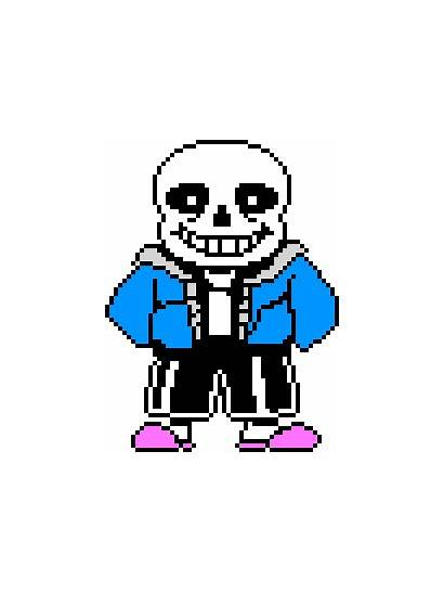 Undertale Sans Sprite Colored Skeleton Fandom Shaded