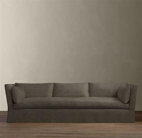 8 belgian shelter arm slipcovered sleeper sofa sleepers restoration hardware rh