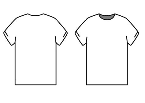 T Shirt Template Tshirt Template Psd Vector Ai Illustrator Png Sublimation