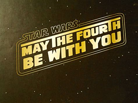 May the 4th Be With You! Star Wars Day Give Away - Three ...