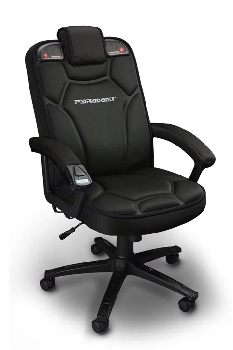 pc bureau gaming review pyramat wireless gaming chair rocks your spine