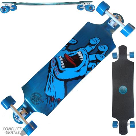downhill longboard decks uk santa screaming drop skateboard longboard