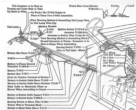 1928 Ford Model A Wiring by Wire Diagram Model A Roadster Up Wiring Library