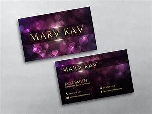 Mary kay business cards for Mary kay business card