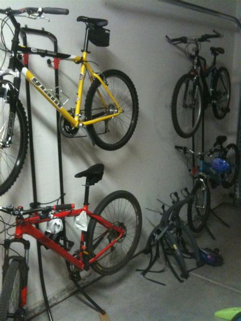 garage bike storage bike storage in garage mtbr