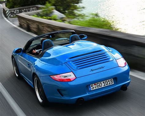 new porsche 911 paris preshow new porsche 911 speedster carscoops