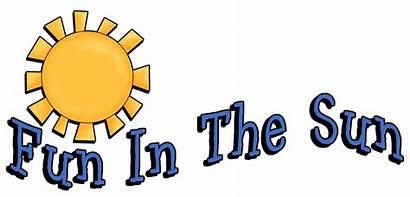 Fun Sun Clip Clipart Word Beach Quotes