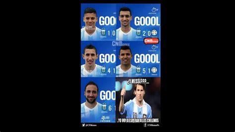 Argentina Memes - chile vs argentina memes resaltan odiosidad regional contra la roja y aseguran que chilenos