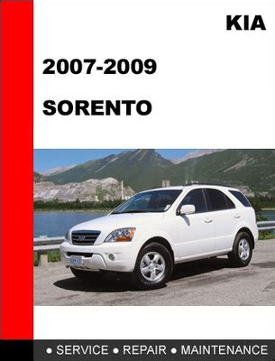 free car repair manuals 2008 kia sorento interior lighting kia sorento 2007 2008 2009 factory service repair manual tradebit