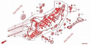 Left Crankcase For Honda Pcx 125 2019 2018   Honda
