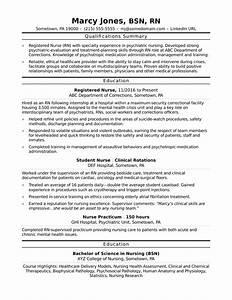 registered nurse rn resume sample monstercom With entry level nurse resume
