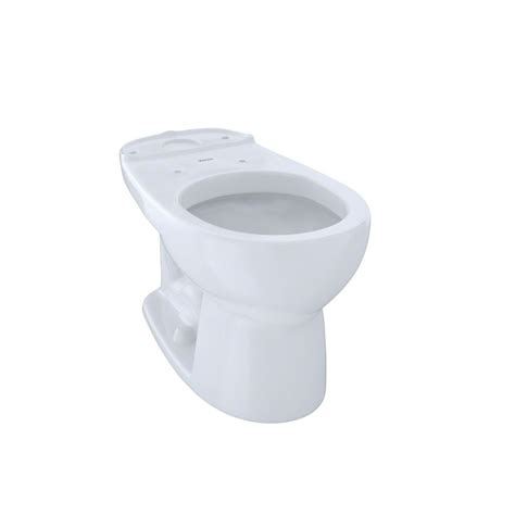 Toto Eco Drake Round Toilet Bowl Only In Cotton White