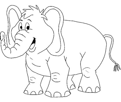 piggie  elephant coloring pages coloring home
