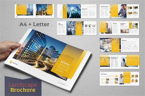 template plaquette indesign 20 annual report templates top digital agency san