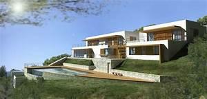 photos maisons en pente With implantation maison sur terrain en pente