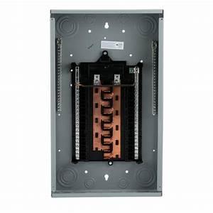 Siemens Pl Series 125 Amp 20-space 40-circuit Main Lug Wireguide Load Center-p2040l1125acu