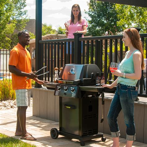 broil king monarch 320 grill barbecue bbq lp gas
