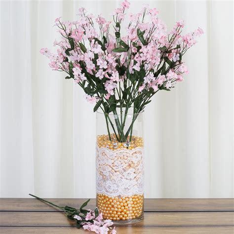tall  bushes baby breath silk filler flowers