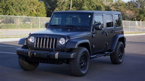 jeeps matte black matte black jeep wrangler raail airwrap youtube