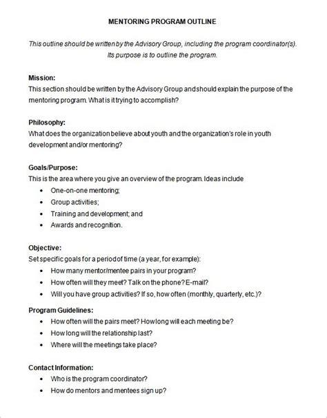 course outline template 8 program outline templates doc pdf free premium templates