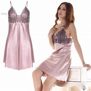 Womens Night Bauhaus : 2018 new 2015 women satin nightgown sexy sleepwear women sleep dress women nightgown sexy ~ Eleganceandgraceweddings.com Haus und Dekorationen