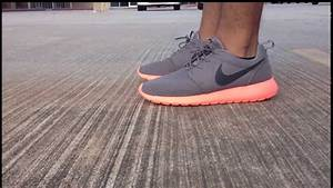 "Roshe Run ""Mango v2"" On Feet - YouTube"