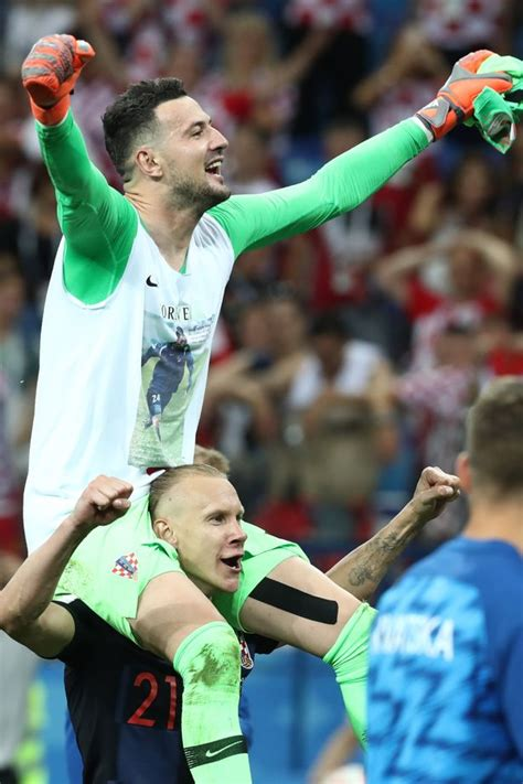 Croatia Penalty Hero Danijel Subasic Defiant Tribute