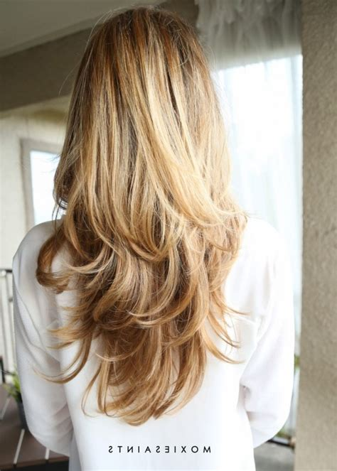 layered long blonde hair  ideas  long layered