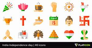 India Independence day 40 free icons (SVG, EPS, PSD, PNG ...