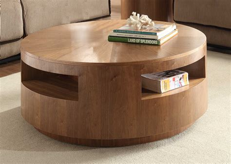 Round Coffee Tables For Your Cozy Seating Area-traba Homes