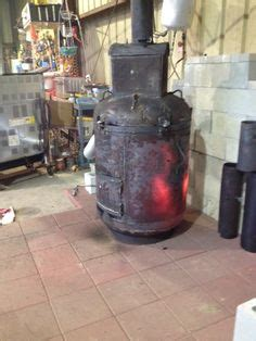 waste oil heater  pinterest wood burning stoves