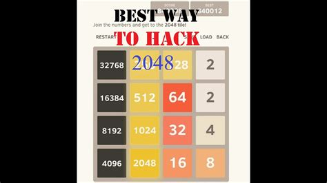 2048 Android Game For Unlimited Scores!