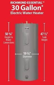 Diagram Richmond Water Heater