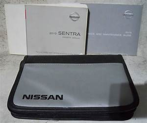 Nissan Sentra 2010 Factory Original Oem Owner Manual User