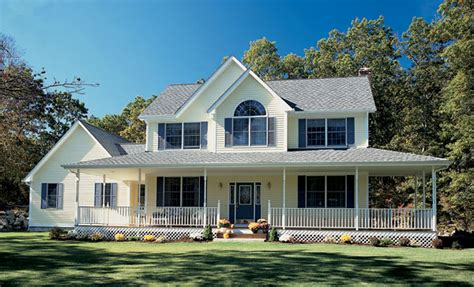 country style houses country style farmhouse w wrapping porch hq plans