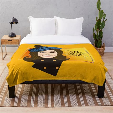 """By julie jordan thursday may 12, 2011 interesting note, the store where mtm throws her hat was our flagship store daytons which was started back in the 1800's. """"Mary"""" Throw Blanket by AleMogolloArt   Redbubble"""