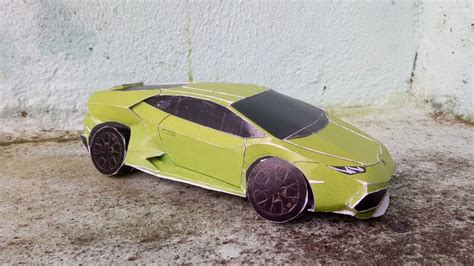 How To Make A Lamborghini by How To Make Lamborghini Huracan Paper From Papercraft 99