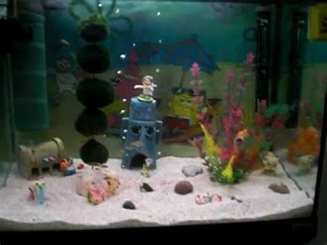 spongebob aquarium decor petsmart spongebob bikinibottom