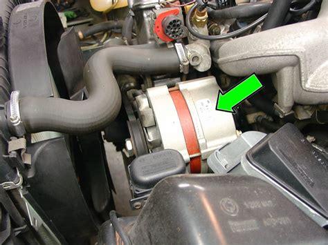 bmw e30 alternator wiring