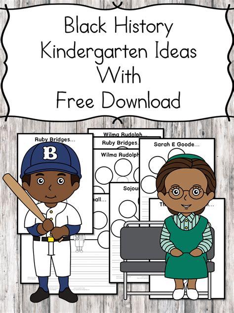 black history kindergarten lesson plans and ideas 303 | black history kindergarten lessons